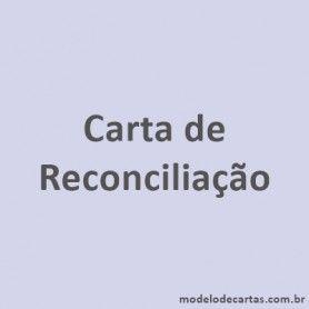 Carta de Reconciliação